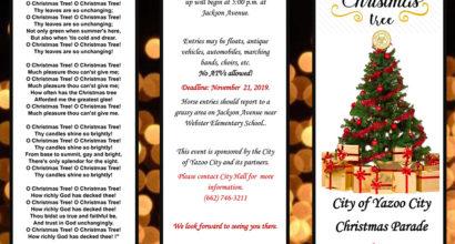 Yazoo City Christmas Parade