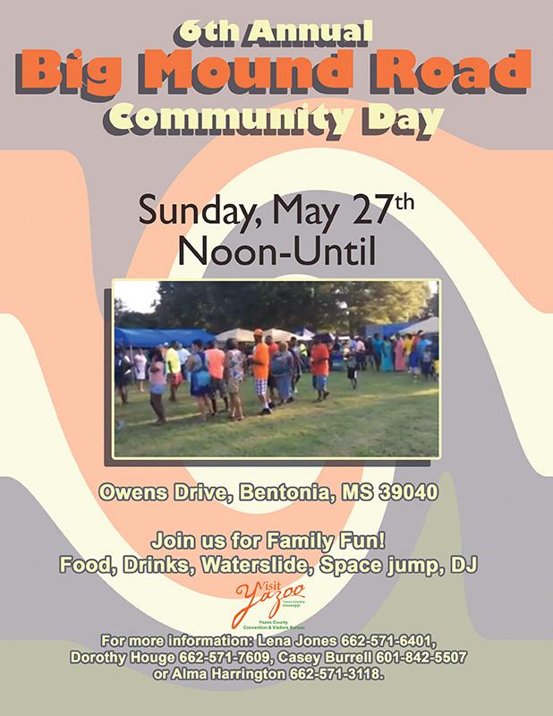 Big Mound Road Community Day