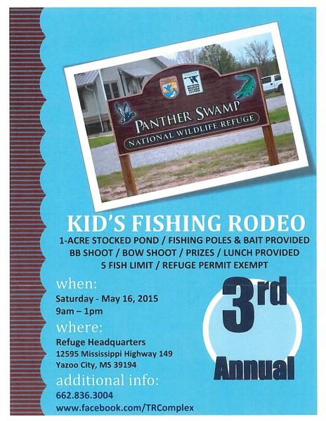 Kids Fishing Rodeo w