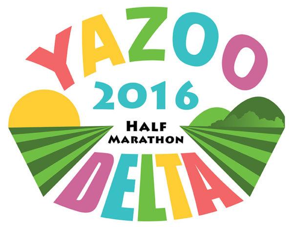 Yazoo Delta Half Marathon logow